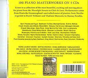 100 Piano Masterworks by Decca (UMO) Classics