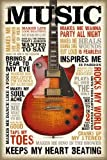 Music is Passion // Maxi Poster 61 x 91,5 cm // reindersshop #23204