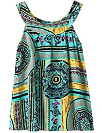 74e0d8723d0e Chinatera Baby Girl s Halter Floral Print Tutu Dress Cotton One Piece  Beachwear Outfit
