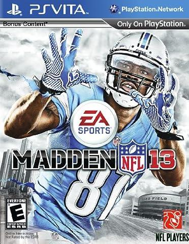 Madden Nfl Ps Vita - Madden NFL 13 (Import