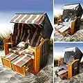 BRAST Strandkorb Premium Ostsee Sonneninsel Poly-Rattan XXL von BRAST bei Gartenmöbel von Du und Dein Garten