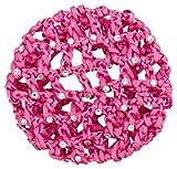tanzmuster Ballett Duttnetz/Knotennetz Mila, verziert mit Strasssteinen, mit Gummiband in pink - für den perfekten Halt des Ballett Dutts und als süße Ergänzung für jedes Ballettoutfit