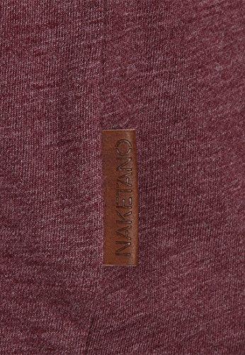 Naketano Female Shortsleeve Schnella Baustella III Bordeaux Melange