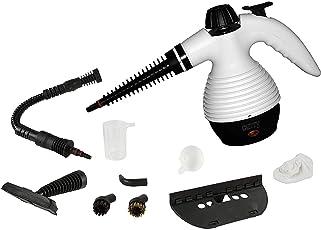 10 in 1 Multi Dampfreiniger   Steam Cleaner   Dampfbesen   Dampfmob   Handdampfreiniger   Dampfreinigungsgerät   1.100 Watt   Inkl. 10-teiligem Zubehör   max. 3,5 Bar  