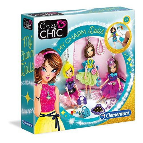 (Clementoni 15222 Clementoni-15222-Crazy Chic-Dolls, Mehrfarben)