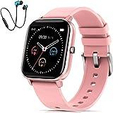 Smartwatch Offerta Del Giorno, DUODUOGO K10 Impermeabile Bluetooth Smartwatch Orologio Fitness Uomo Donna Bambini Compatibile