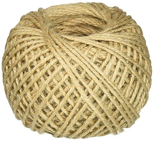 Schnur Seil, Jute, Jute-Schnur natur für Handwerk, Geschenke, Arts und Handwerk Basteln, Dekoration, Gartengeräten und Recycling