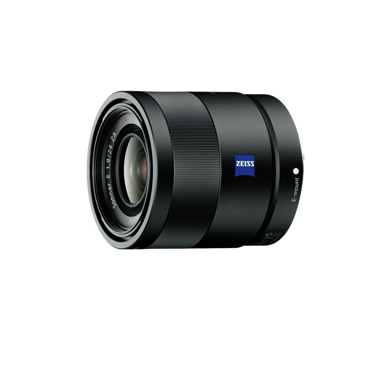 Sony SEL24F18Z Obiettivo Grandangolare con focale fissa E 24 mm F1.8 ZA, Nero