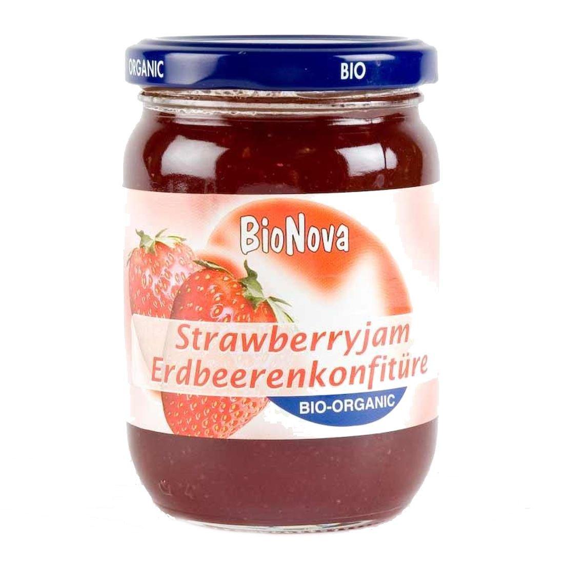 Bionova   Strawberry Jam - organic   1 x 340g