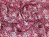 Minerva Crafts Animal Print Crinkle Polyester Chiffon Kleid