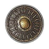 Noosa Chunk Korean Sunflower brass