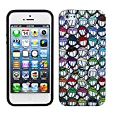TPU All Smiles (V) Silicone Skin Gel Cover Case For Apple iPhone 5
