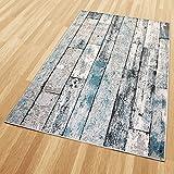 Balta Rugs in- und Outdoor-Teppich Green Wooden Floor L 160x230cm für Innen und Außen