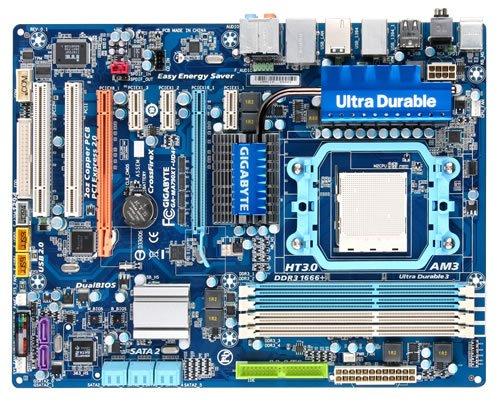 Gigabyte GA-MA790XT-UD4P Mainboard Sockel AMD AM3 max. 16 GB DDR3 Speicher ATX