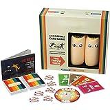 BST&BAO Juego de Mesa de Cartas de Juego de Lanzamiento de maíz, un Juego de Cartas de balón Prisionero - Juegos de Fiesta pa