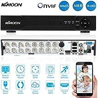 KKmoon 16 Kanal Digital Video Rekorder 720P CCTV Standalone Analog DVR Hohe Definition H.264 HDMI Fernansicht Haussicherheitssystem