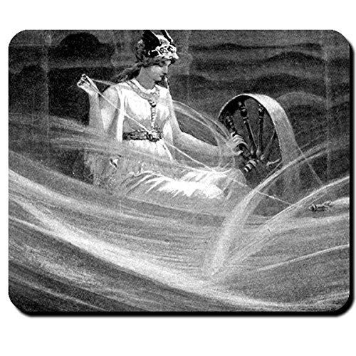 Darstellung Frigg John Charles Dollman 1851–1934 Gemahlin Odins Schutzherrin EHE Mutterschaft Asgard - Mauspad Mousepad Computer Laptop PC #16096