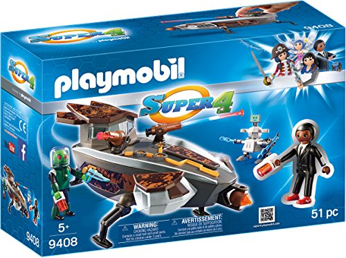 PLAYMOBIL-Gene Sykroniano Nave Robot Playset Figuras
