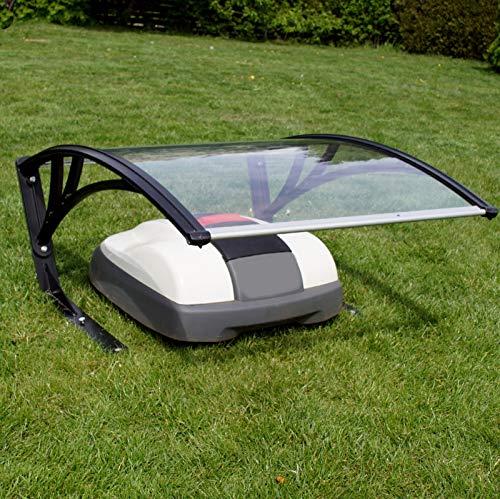Baumarktplus Mähroboter Garage 2 verschiedene Höhen Dach Carport Überdachung für Rasenroboter Automower Rasenmäher
