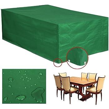 GroB Yahee Wasserdichte Schutzhülle Hülle Abdeckung Für Gartenmöbel Bank Tisch  135x135x75cm