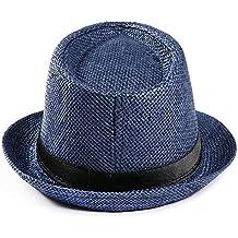4fb823e8cf8cb Subfamily Polyerter Cinturón Visera Sombrero Sombrero Exterior Sombrero  Unisex Casual Sombrero Panama Sombrero Paja Gorros para