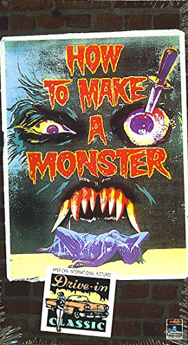 Preisvergleich Produktbild How to Make a Monster [VHS]