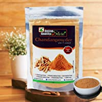 Online Quality Store Chan Pure Chandan powder for face 100% Herbal and Orignal Lab tested report attached (100 grams)