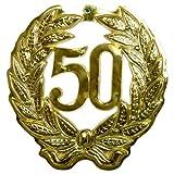 Folat Wanddeko 50. Jubiläum 45 cm