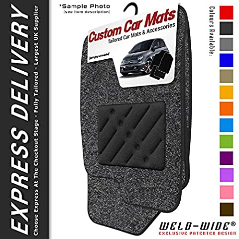 Vauxhall Astra Mk4 (G) (1998-2004) Weld-Wide Embossed Tailored Car Mats
