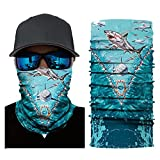 AmyGline Radfahren Motorrad Kopftuch Halswärmer Gesichtsmaske Ski Balaclava Headband Scarf