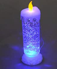 House of Gifts Romantic Candle led Glowing for Home Decor and Gift