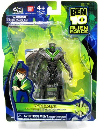 Ben 10 Alien Force 4 Inch Action Figure Nanomech by Ben 10