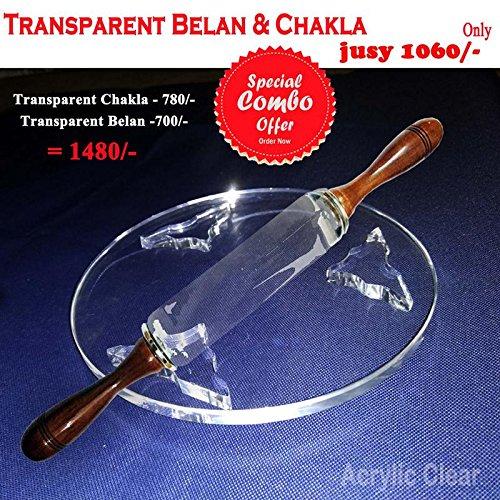 Chapati belan of Acrylic Sheets & Chakla