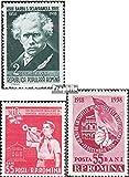Rumänien 1716,1731-1732,1760,1761, 1762 (kompl.Ausg.) 1958 Schriftsteller, Sport, Schule, u.a. (Briefmarken für Sammler)