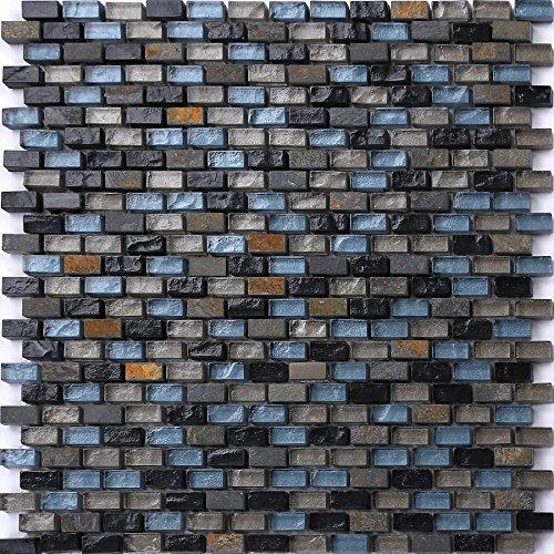 carrelage-tapis-en-mosaique-bleu-noir-et-argent-en-verre-et-pierre-naturelle-texture-effet-floral-br