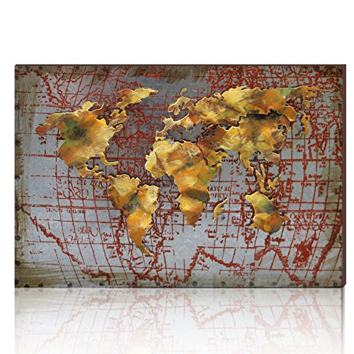 aonbat-3d-metal-world-map-art-work-sculpture-100-handmade-wall-art-decor-home-decor-artwork-abstract