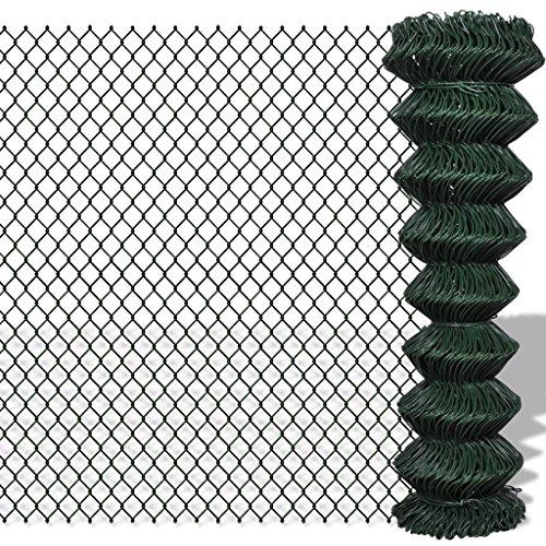 Grillage vert 1,5 x 15 m