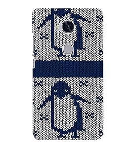 PrintVisa Cartoon Woolen Pattern 3D Hard Polycarbonate Designer Back Case Cover for Huawei Honor 5X :: Huawei Honor X5 :: Huawei Honor GR5