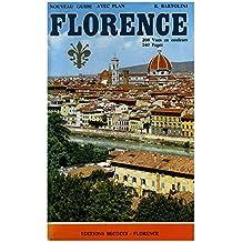 Florence Guide avec plan / Bartolini, R. / Réf 11903
