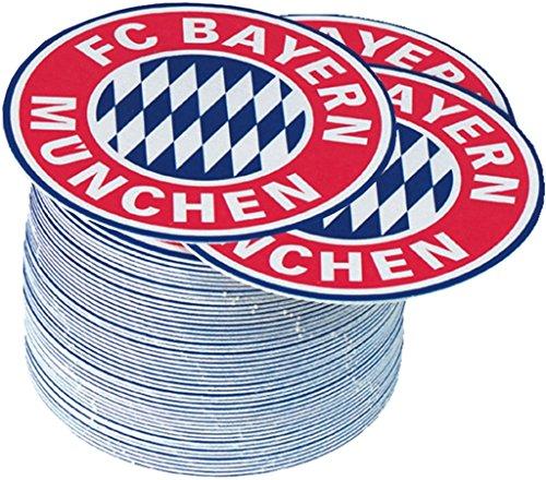 FC Bayern Bierdeckel Emblem 50 Stück