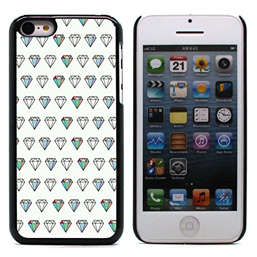 Graphic4You RED STRIPES Muster Harte Hülle Case Tasche Schutzhülle für Apple iPhone 5C Design #4
