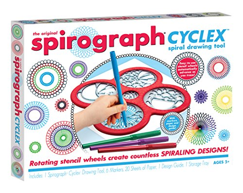 Cool Create The Original Spirograph Cyclex Espiral Herramienta de Dibujo