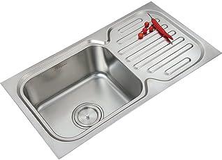 Anupam Single sink with Drain board Model : 201A
