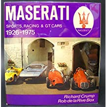 Maserati: Sports, Racing and G.T.Cars, 1926-75