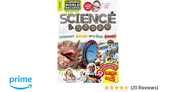 Science Stuff Amazoncouk Guinness World Records