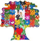 Holz Puzzle Baum zum Bemalen - originelle Hochzeitsgeschenke für das Brautpaar - Hochzeitsgeschenke...