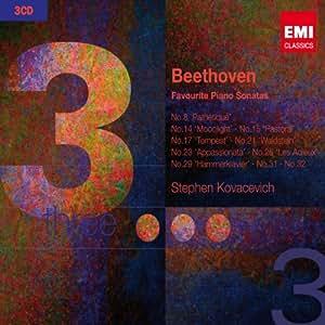 Beethoven Favourite Piano Sonatas