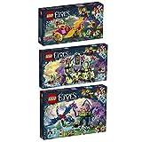 LEGO Elves 3er Set 41186 41187 41188 Azari und die Flucht aus dem Kobold-Wald + Rosalyns heilendes Versteck + Ausbruch aus der Festung des Kobold-König