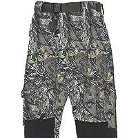 Fladen–Totalmente Impermeable y Resistente al Viento al Aire Libre Utilidad Pantalones–Woodland Camuflaje y Caqui diseño–Ideal para Pesca, Caza y Actividades de Similar, Camo Khaki