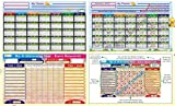 Kids Goods Best Deals - Reward Chart & Monthly Planner. Inculcate Good Habits & Motivate Kids.